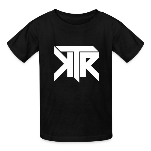 KTR Logo White - Kids' T-Shirt