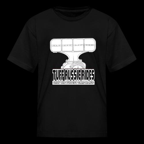Tuff Aussie Rides Blower Design - Kids' T-Shirt