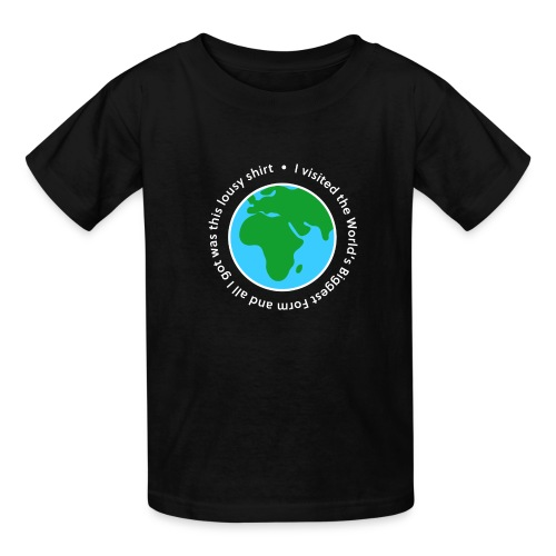 I visited the World's Biggest Form - Kids' T-Shirt