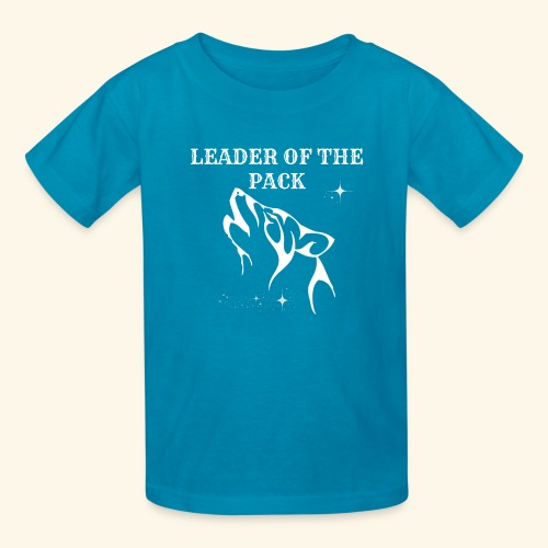 LEADER OF THE PACK WOLF - Kids' T-Shirt