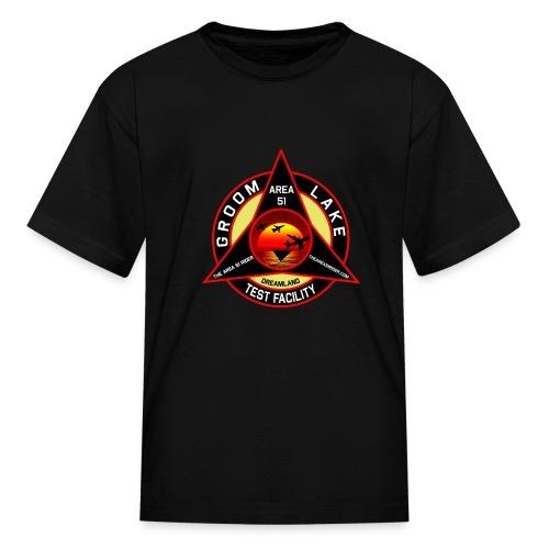 THE AREA 51 RIDER CUSTOM DESIGN - Kids' T-Shirt