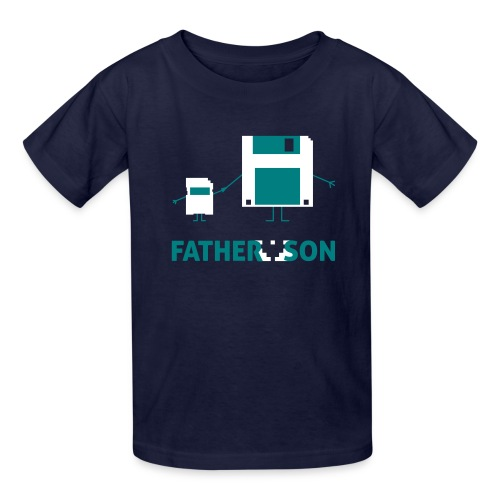 Father and Son - Kids' T-Shirt