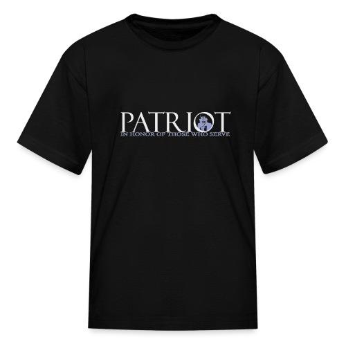 PATRIOT-SAM-USA-LOGO-REVERSE - Kids' T-Shirt