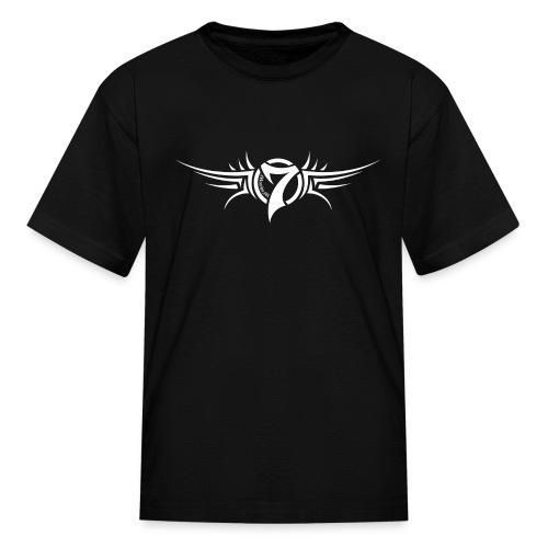 MayheM-7 Tattoo Logo White - Kids' T-Shirt
