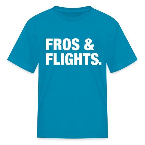 fros flights white - Kids' T-Shirt