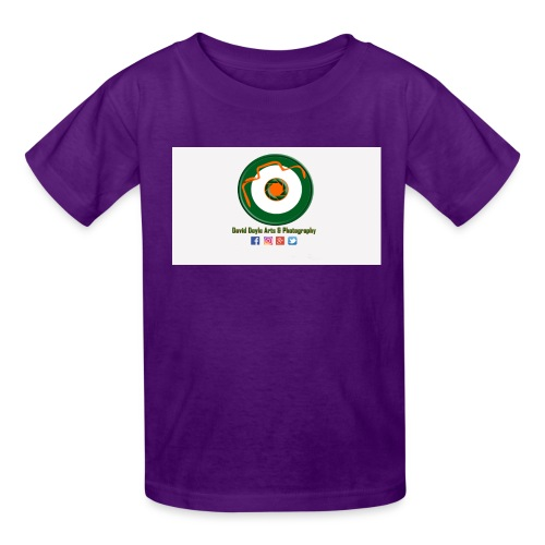 David Doyle Arts & Photography Logo - Kids' T-Shirt