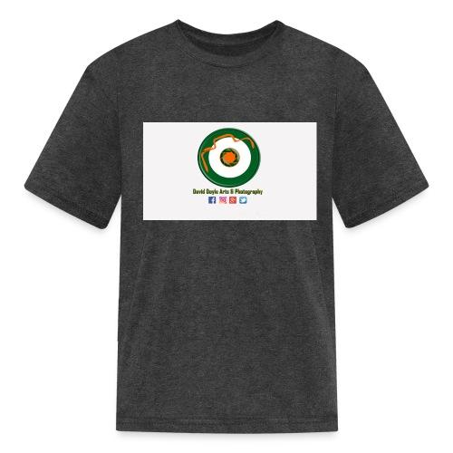 David Doyle Arts & Photography Logo - Kids' T-Shirt