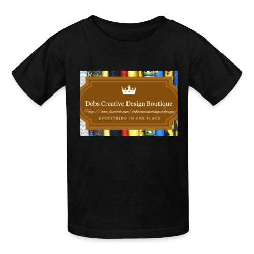 Debs Creative Design Boutique with site - Kids' T-Shirt