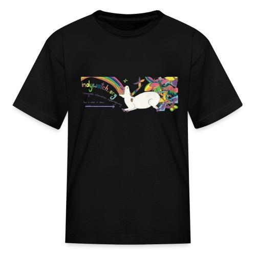unicorn dark - Kids' T-Shirt