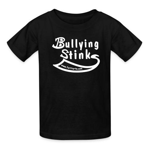 bullying stinks shirt outline png - Kids' T-Shirt