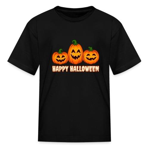 Happy Halloween Pumpkin Squad | Jack O' Lantern - Kids' T-Shirt