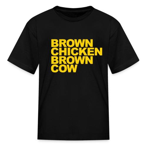 brown chicken - Kids' T-Shirt
