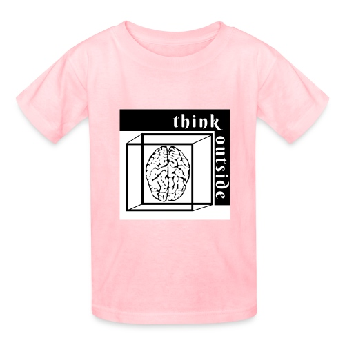 think outside the box - Kids' T-Shirt