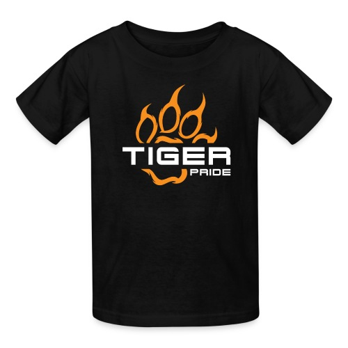 IV Tiger Pride on Black - Kids' T-Shirt