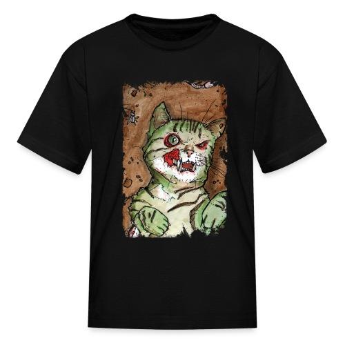 zombie kitten 1 - Kids' T-Shirt