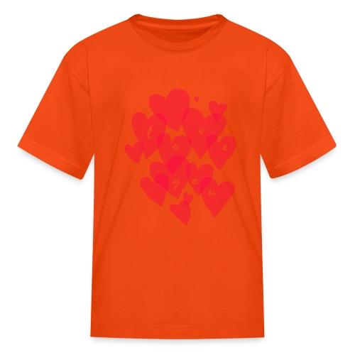 love you - Kids' T-Shirt