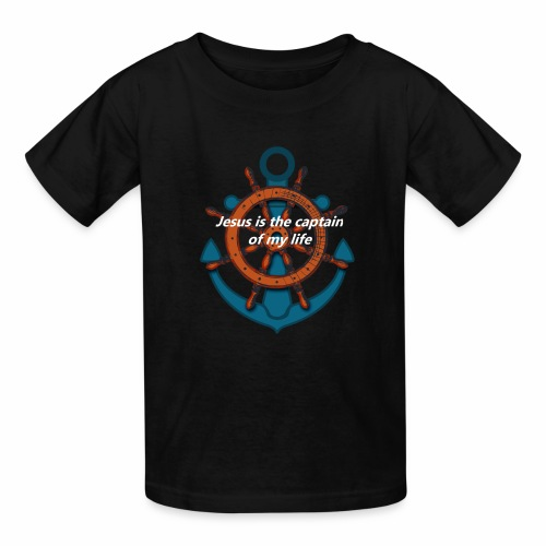 Jesus is the captain of my life Shirts - Kids' T-Shirt