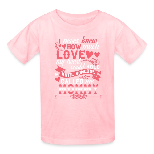 I Never Knew How Much Love My Heart Could Hold - Kids' T-Shirt