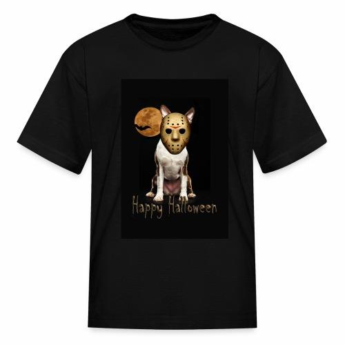 Jason - Halloween Boston Terrier - Kids' T-Shirt