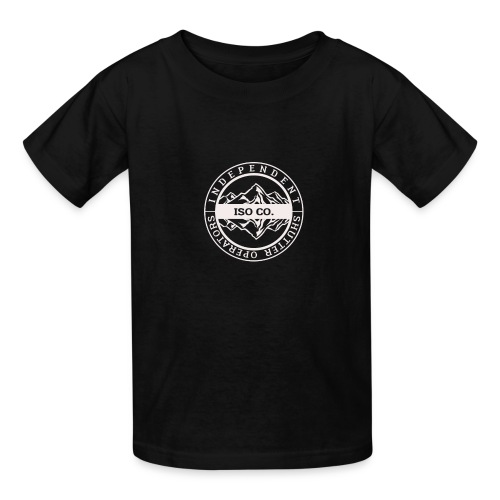 ISO Co. White Classic Emblem - Kids' T-Shirt