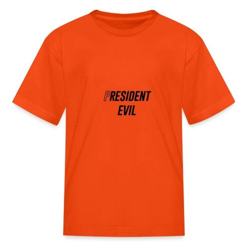 President Evil - Kids' T-Shirt