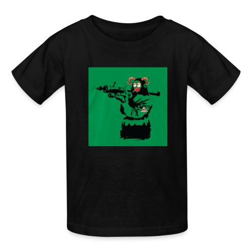 Baskey mona lisa - Kids' T-Shirt