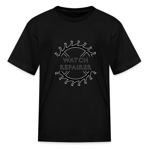 Watch Repairer Emblem - Kids' T-Shirt