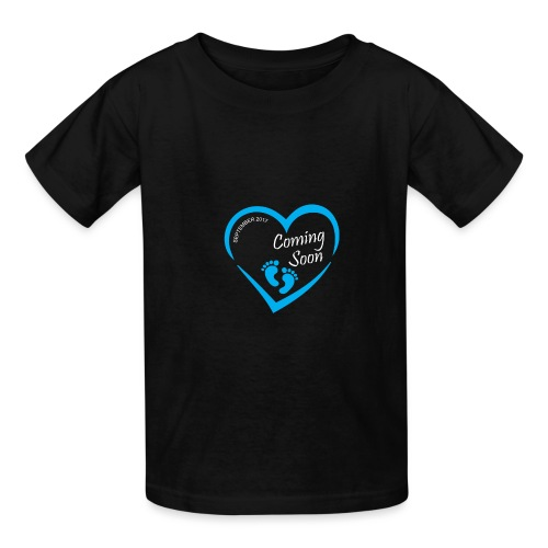 Baby coming soon - Kids' T-Shirt