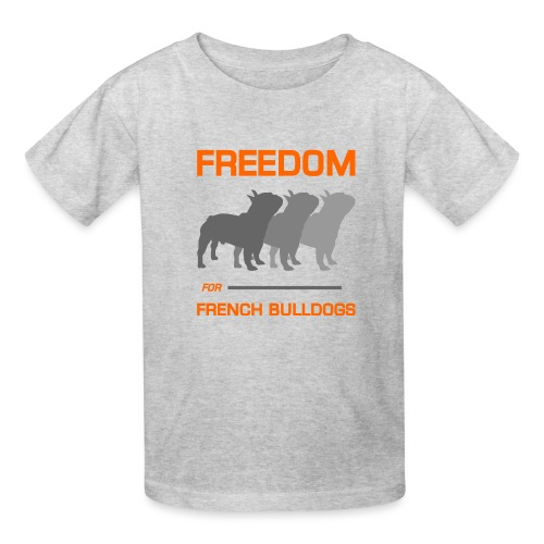 French Bulldogs - Kids' T-Shirt