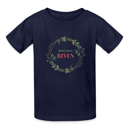 Kristy hates Riven - Kids' T-Shirt