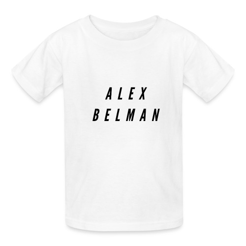Alex Belman Logo - Kids' T-Shirt