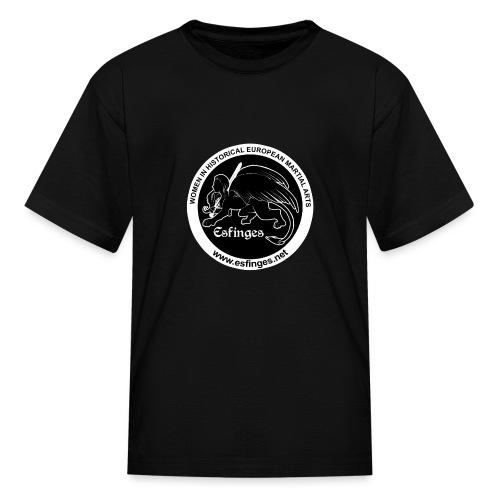 Esfinges Logo Black - Kids' T-Shirt