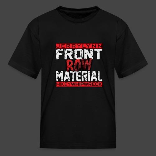 Front Row Material Logo - Kids' T-Shirt