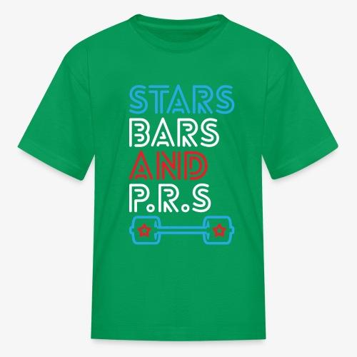 Stars, Bars And PRs - Kids' T-Shirt