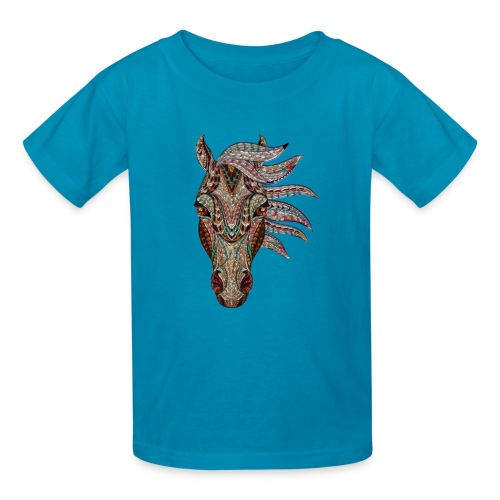 Horse head - Kids' T-Shirt