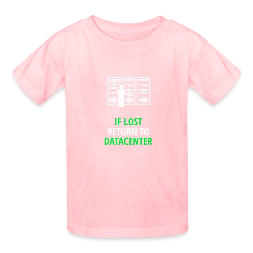 If Lost Return To Datacenter - Kids' T-Shirt