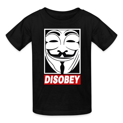 Disobey - Kids' T-Shirt
