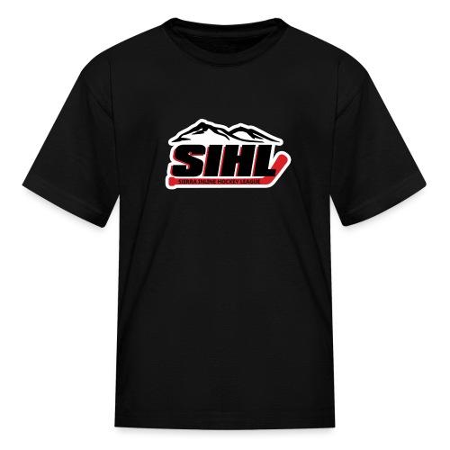 SIHL Logo White Outlined - Kids' T-Shirt