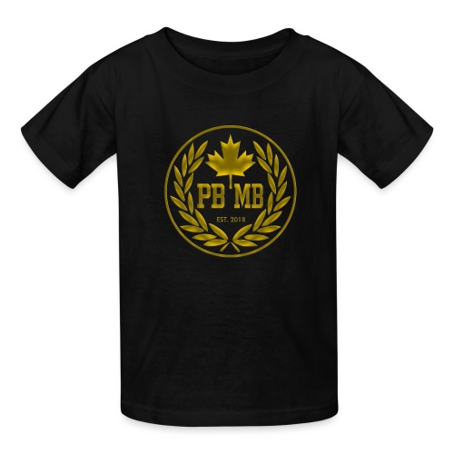pbmb logo gold - Kids' T-Shirt