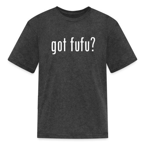 gotfufu-black - Kids' T-Shirt