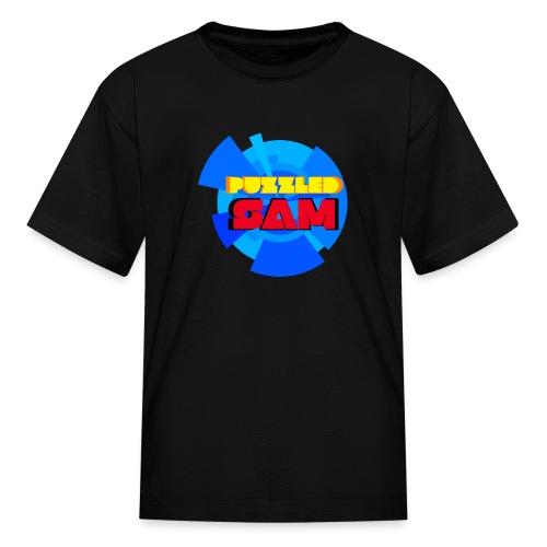 PuzzledSam Logo - Kids' T-Shirt