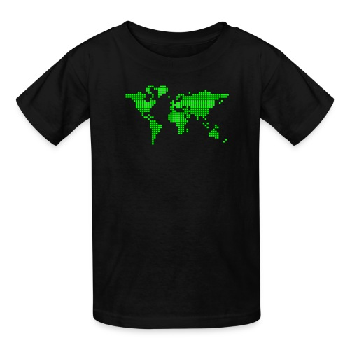 It s a Pixelous World - Kids' T-Shirt