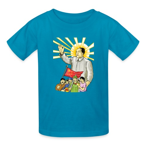 Mao Waves to the People - Kids' T-Shirt