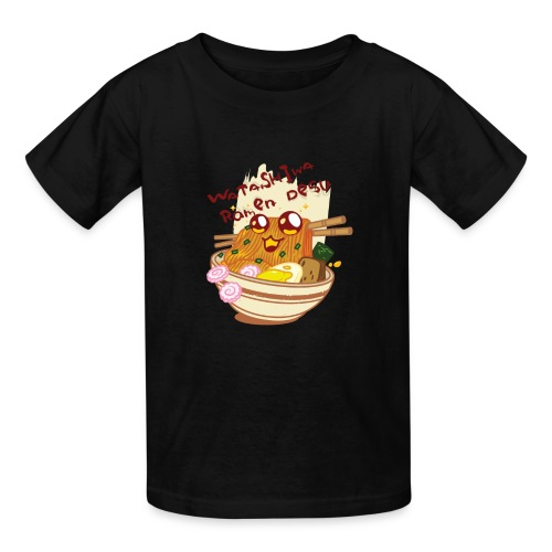 Watashiwa Ramen Desu - Kids' T-Shirt