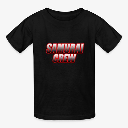 SamuraiCrew logo - Kids' T-Shirt