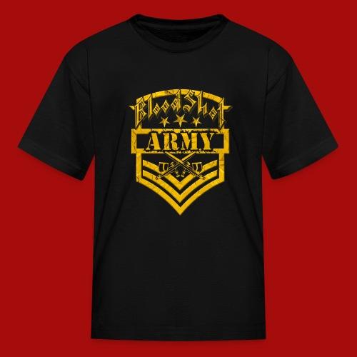 BloodShot ARMY Logo - Kids' T-Shirt
