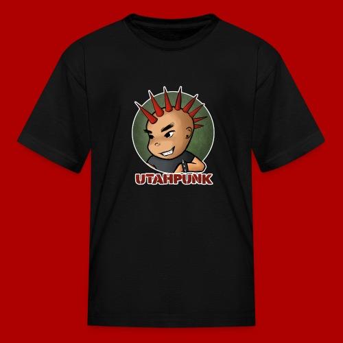 Utahpunk Logo Outline - Kids' T-Shirt