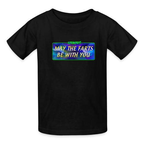 may the farts1 png - Kids' T-Shirt
