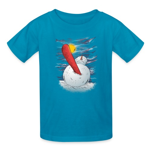 the accident - Kids' T-Shirt