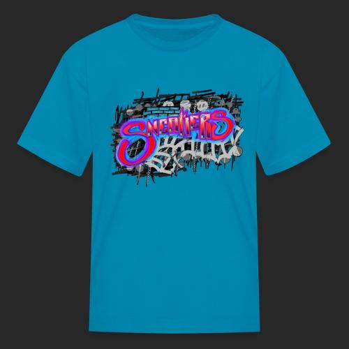 Sneakers Graffiti - Kids' T-Shirt
